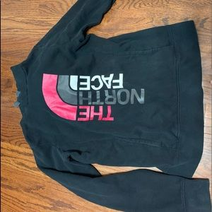 Women's north face hoodies size m